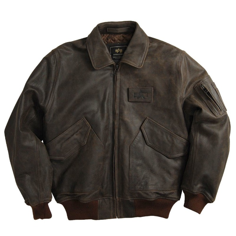 Куртка ALPHA INDUSTRIES CWU-45P Flight Leather