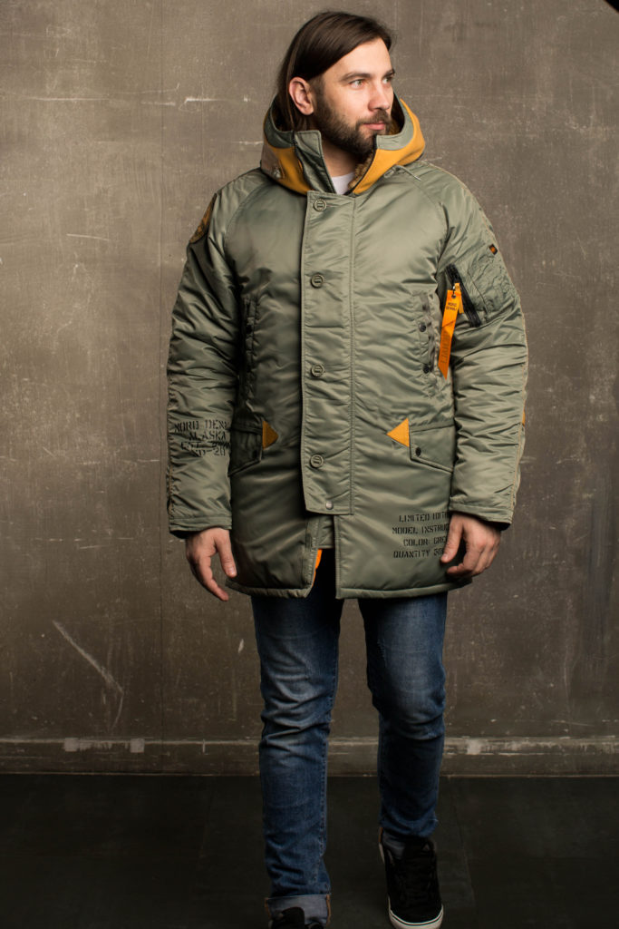 Аляска NORD DENALI INSTRUCTOR Olive/orange